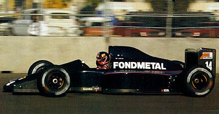 Fondmetal, equipe histórica de Formula 1 de 1991 - by dlg.speedfreaks.org