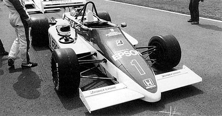 Single Seater Auto Racing Cars on March 85j Honda