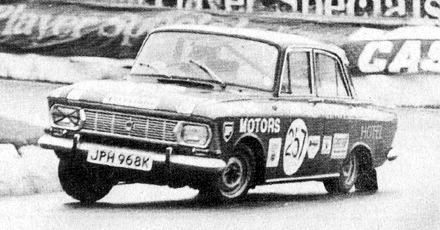 Racing Auto Rims on Moskvich 412