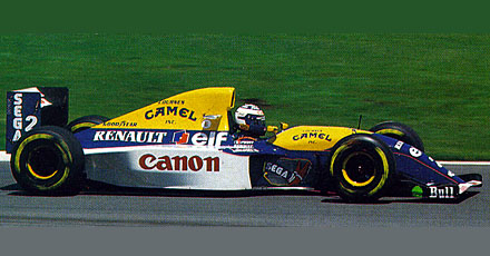 Single Seater Auto Racing Cars on Williams Fw 15c Renault